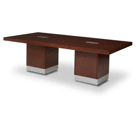 incept conference table by aico desks