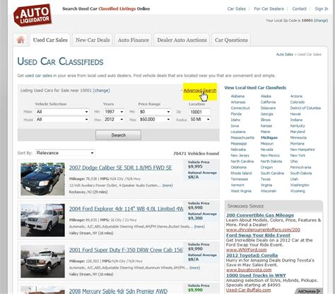 new car search car finder new used car finder search engine