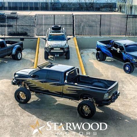 starwood motors ram custom trucks w kelderman suspensions custom starwood