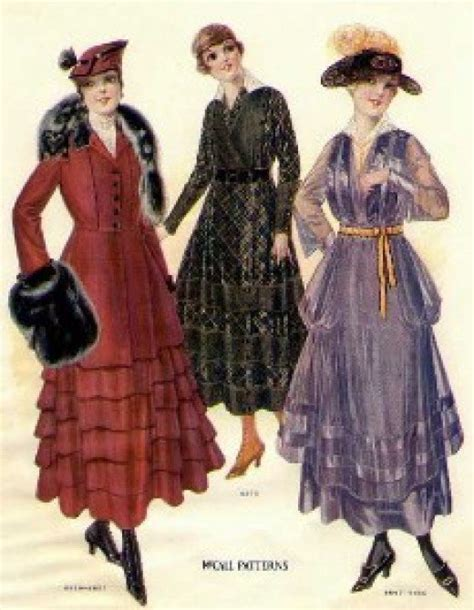 styles of 1914 women s fashion during wwi 1914 1920 bellatory