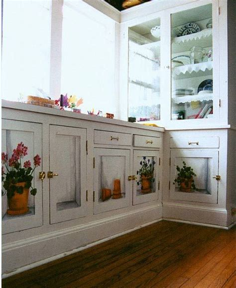 Decoupage Kitchen Cabinets - cabinets painted kitchen cabinets and kitchen cabinets on