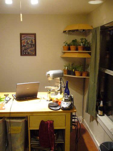 kitchen herb garden shelving unit