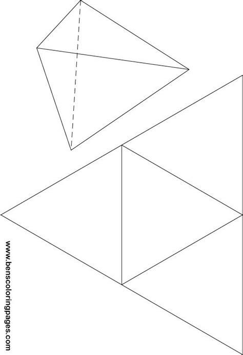 Triangular Pyramid Template best photos of triangular pyramid template paper
