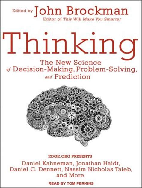 predicting human decision from prediction to books listen to thinking the new science of decision