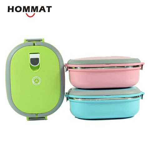 Stainless Lunchbox 1 Susunrantang Bekal stainless steel metal bento lunch box for thermal bento food container lunchbox w