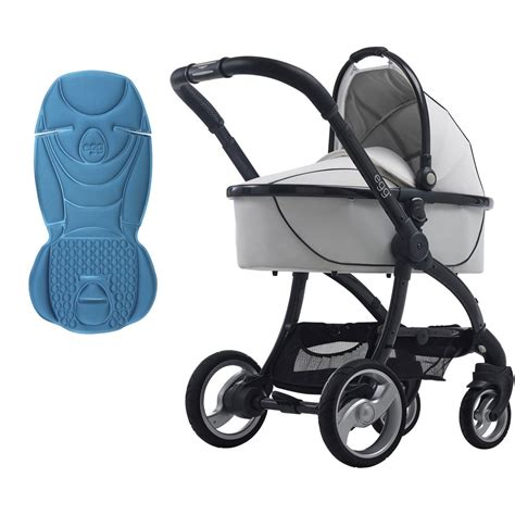 3in1 White egg 3 in 1 stroller arctic white available from w h watts