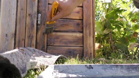 gartenhaus neu streichen gartenhaus innen grundieren my