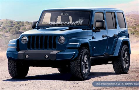 New Jeep For 2018 by 2018 Jeep Wrangler Release Date Redesign Price