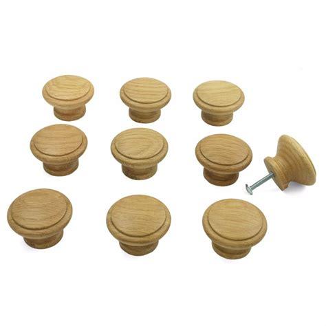 Oak Kitchen Knobs by 10 X Oak Wooden Kitchen Cupboard Cabinet Door Drawer