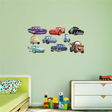 Disney Cars Wall Decals disney pixar cars collection wall decal shop fathead