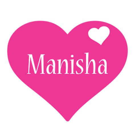 name style design manisha logo name logo generator i love love heart