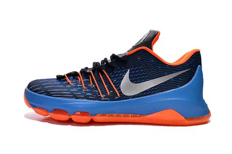 foot locker kd basketball shoes kd blue and orange basketball shoes navis