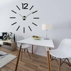 Grosse Wanduhren Edelstahl by Gro 223 E Wanduhr Ein Stilvolles 3d Stick Uhr An Der Wand