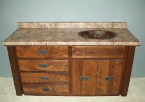 log bathroom vanities rustic cabin bathroom vanities