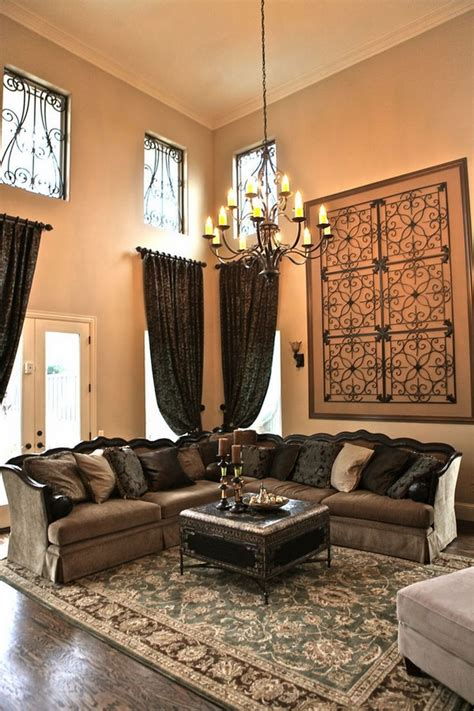 living room wall treatment ideas wrought iron wall decor adds elegance to your home