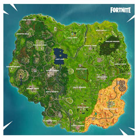 new on the map fortnite season 5 new map changes fortnite insider