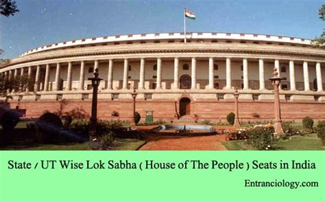 number of lok sabha seats in kerala state ut wise lok sabha house of the seats in