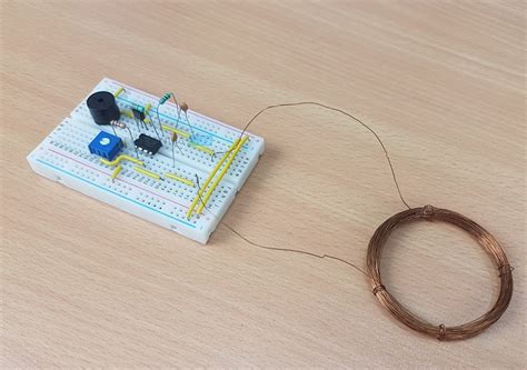 metal detector circuit mini project wiring diagrams