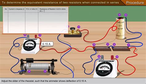 resistors connected in series experiment to determine the equivalent resistance of two resisters when connected in series