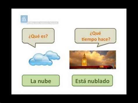el tiempo the el tiempo atmosf 233 rico y el clima the weather in spanish youtube