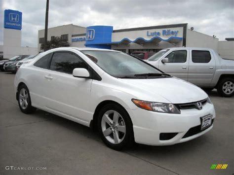 2007 Honda Civic Ex by 2007 Taffeta White Honda Civic Ex Coupe 6900569