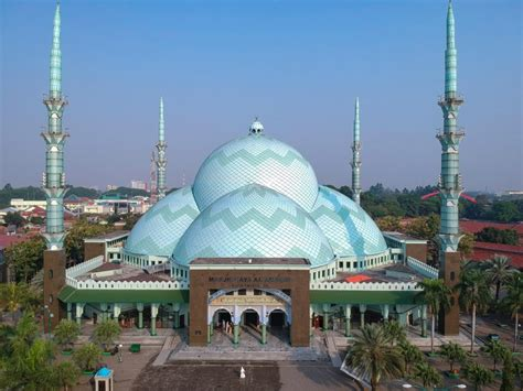masya allah ternyata masjid  kubah terbesar
