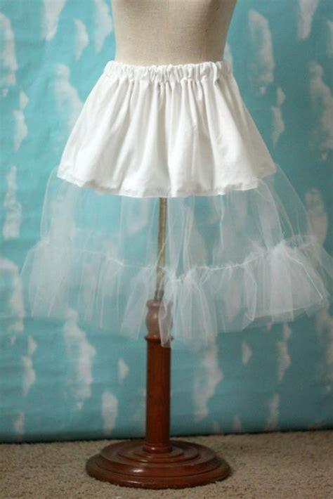organza petticoat tutorial free sewing tutorial tulle petticoat pattern