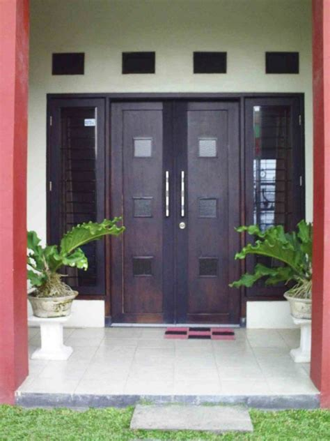 harga model kusen pintu minimalis terbaru kayu aluminium beginilah cat jendela rumah