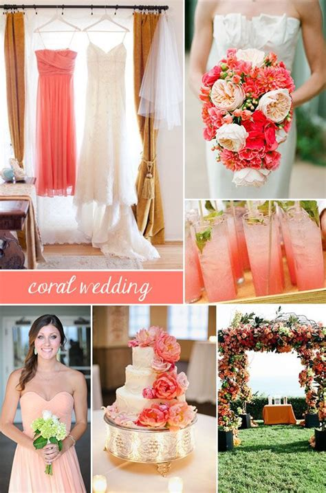 172 best images about coral wedding on groomsmen wedding planners and planners