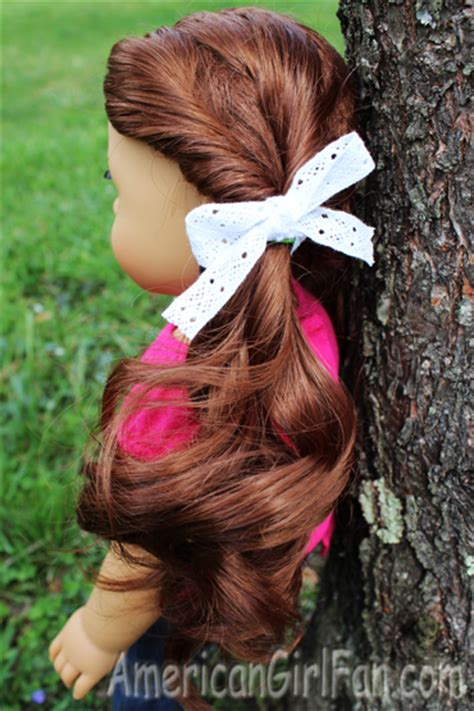 hairstyles for american girl doll videos easy doll hairstyles for spring americangirlfan