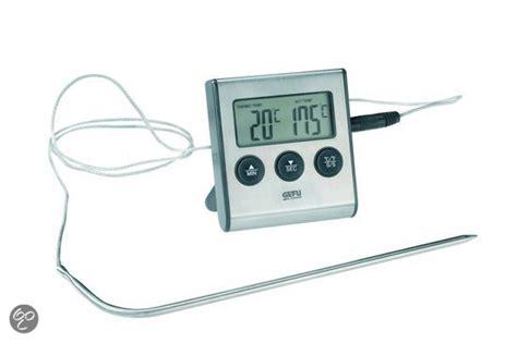 Termometer Oven Digital bol gefu digitale thermometer incl timer koken