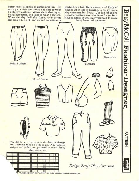paper doll fashion label 431 best paper doll betsy mccall images on