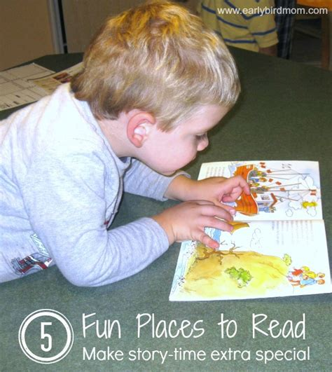 5 Interesting Reads by 5 Places To Read To Make Storytime Special