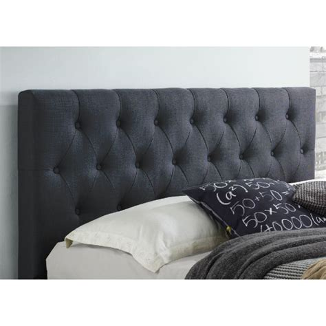 dark grey upholstered bed polo queen fabric upholstered bed head dark grey buy