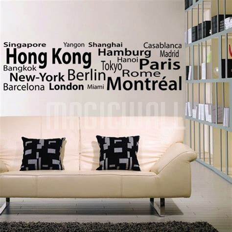 the world wall sticker decals for the wall 2017 grasscloth wallpaper
