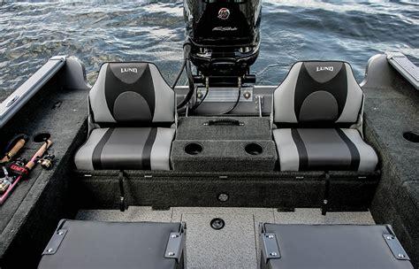 fishing boat jump seats aluminum fishing boats lund impact series