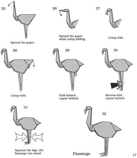 Flamingo Origami - inkspired musings flaming flamingos batman