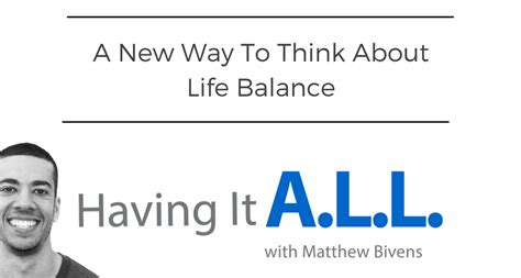 lifestyle organizing a new way to think a new way to think about life balance fireside network