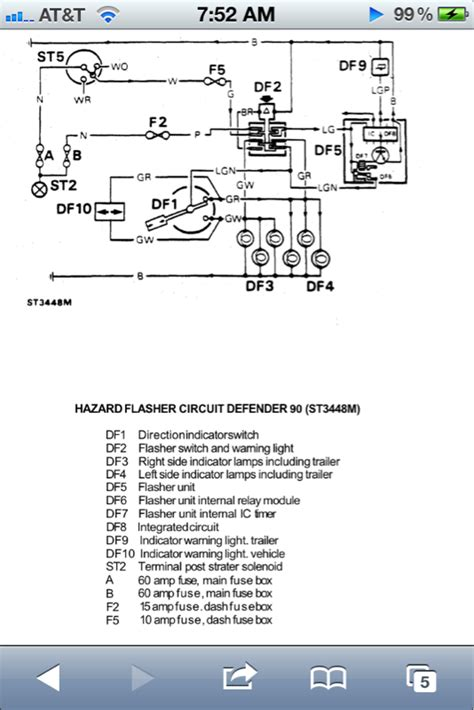 defender light switch wiring diagram images wiring