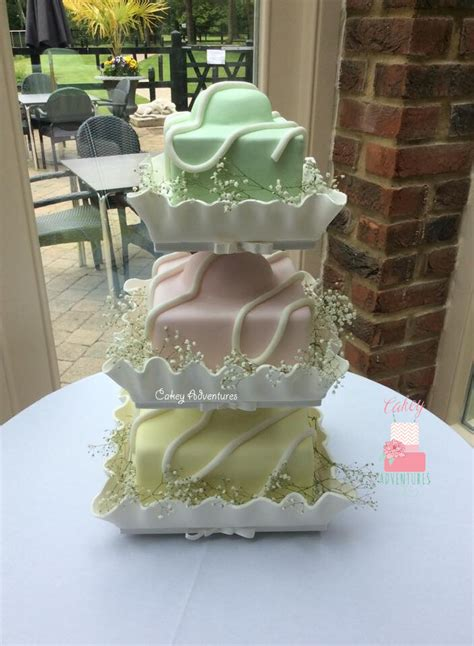 giant wedding cakes giant french fancy wedding cake with edible cases