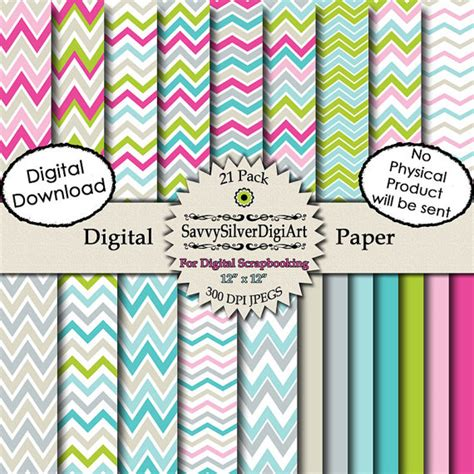 free printable paper zig zag digital chevron paper printable chevron digital paper