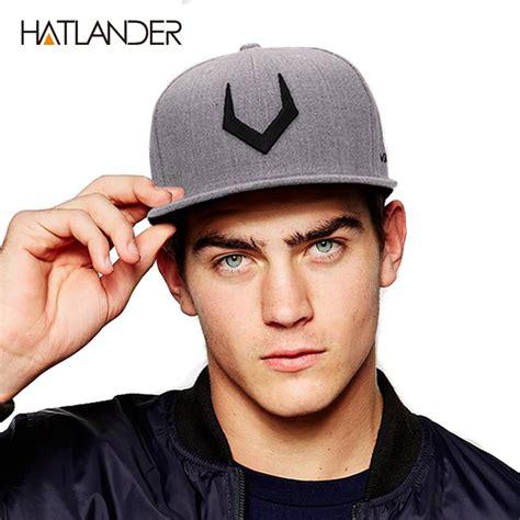 Snapback Topi Hiphop Dewasa Wool Grey Black 1 high quality grey wool snapback 3d cap oneshopexpress