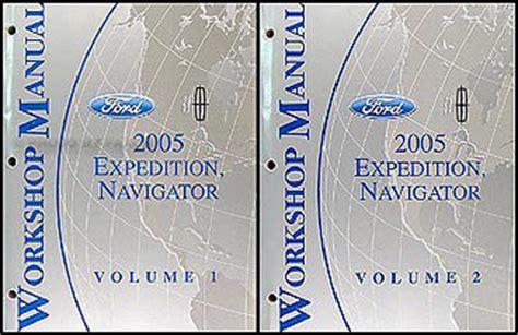 car repair manual download 2005 ford expedition navigation system 2005 ford expedition lincoln navigator wiring diagram manual original