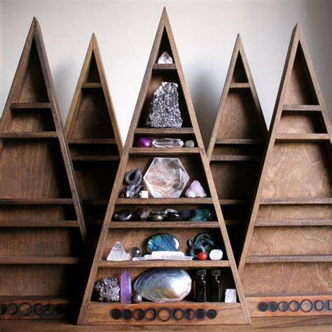 mama moon phase shelf  triangle shelf handmade