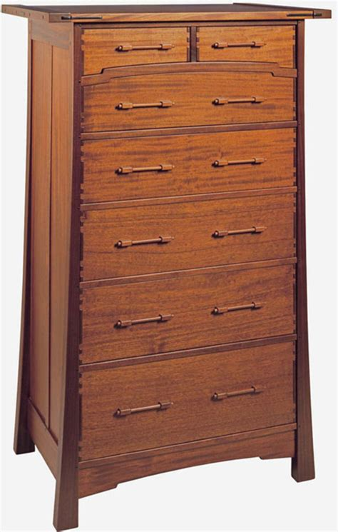 Greene And Greene Dresser by Three Furniture Makers Of The Arts Crafts