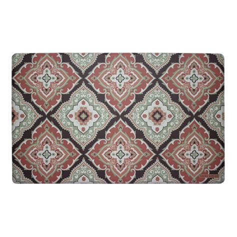 memory foam rugs for kitchen rust 20 in x 32 in memory foam kitchen mat laymk005273 the home depot
