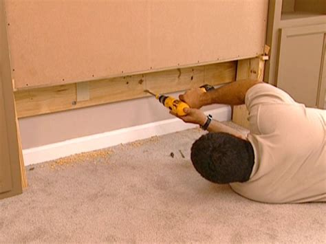 diy wall bed how to build a murphy bed how tos diy