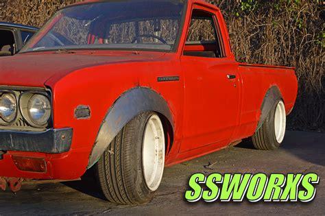datsun 620 fender ssworxs genuine japanesse car parts and accessories