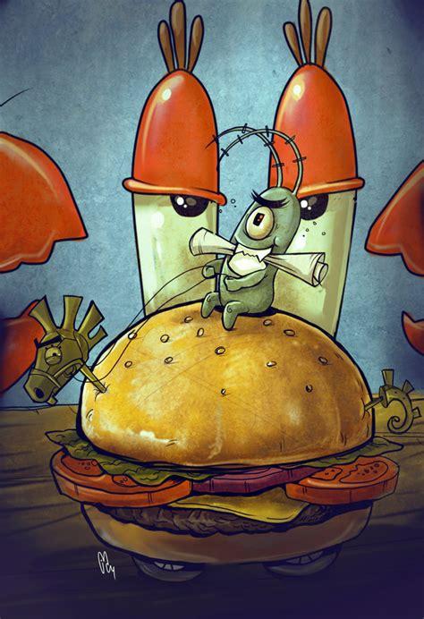 Gambar Poster Sponge Bob plankton by juancharles on deviantart
