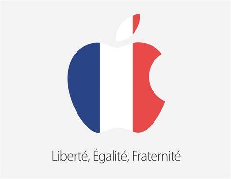 apple france apple passe la pomme en tricolore pour rendre hommage 224 la